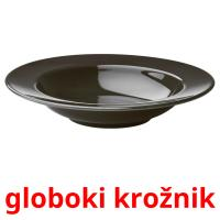 globoki krožnik picture flashcards