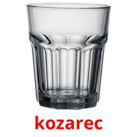 kozarec picture flashcards