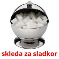 skleda za sladkor card for translate