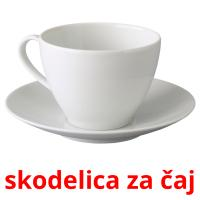 skodelica za čaj picture flashcards