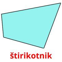 štirikotnik picture flashcards