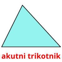 akutni trikotnik picture flashcards