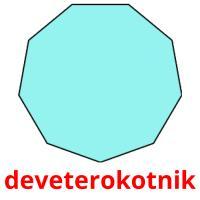 deveterokotnik picture flashcards