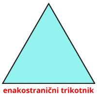 enakostranični trikotnik picture flashcards