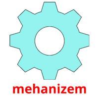 mehanizem picture flashcards
