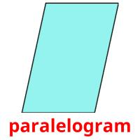 paralelogram picture flashcards