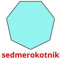 sedmerokotnik picture flashcards