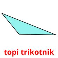 topi trikotnik picture flashcards