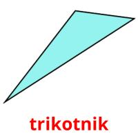 trikotnik picture flashcards