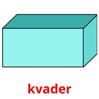kvader picture flashcards