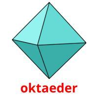 oktaeder picture flashcards