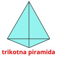trikotna piramida picture flashcards