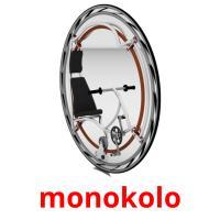 monokolo picture flashcards