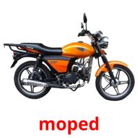 moped picture flashcards