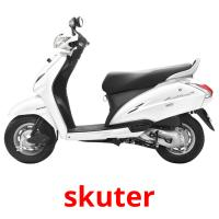 skuter picture flashcards