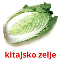kitajsko zelje picture flashcards