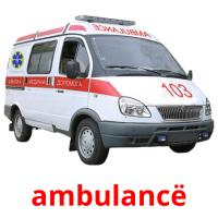 ambulancë picture flashcards