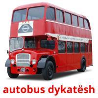 autobus dykatësh picture flashcards