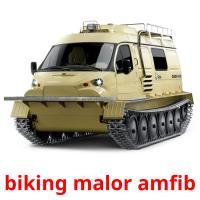 biking malor amfib picture flashcards