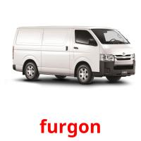 furgon picture flashcards
