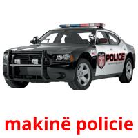 makinë policie picture flashcards