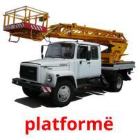 platformë picture flashcards