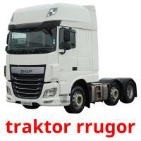 traktor rrugor picture flashcards