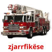 zjarrfikëse picture flashcards