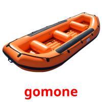 gomone picture flashcards