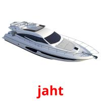 jaht picture flashcards