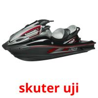 skuter uji picture flashcards