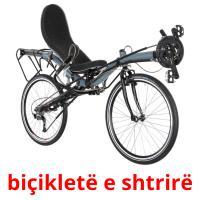 biçikletë e shtrirë picture flashcards