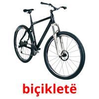 biçikletë picture flashcards