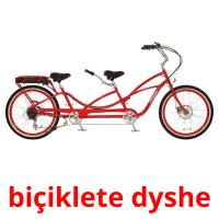 biçiklete dyshe picture flashcards