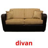 divan picture flashcards