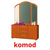 komod picture flashcards