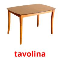 tavolina picture flashcards