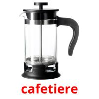 cafetiere picture flashcards
