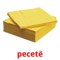 pecetë picture flashcards