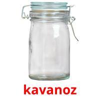 kavanoz picture flashcards