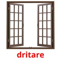 dritare picture flashcards