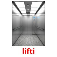 lifti picture flashcards