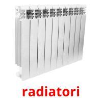 radiatori picture flashcards