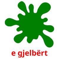 e gjelbërt picture flashcards