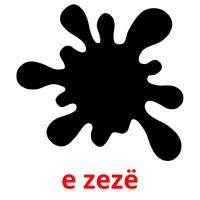 e zezë picture flashcards
