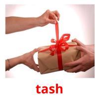 tash picture flashcards