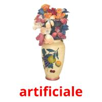 artificiale picture flashcards