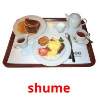 shume picture flashcards