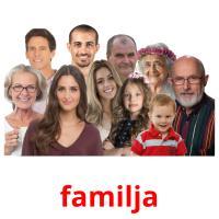 familja picture flashcards