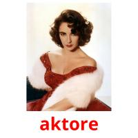 aktore picture flashcards